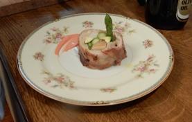 豚バラ肉のインボルチーニ